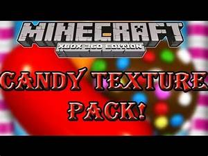 Minecraft Xbox 360Candy Texture Pack First Look YouTube