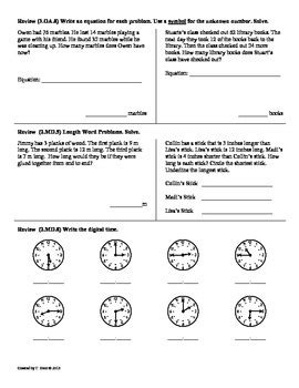 (3oa9) Function Machines3rd Grade Common Core Math Worksheets 2nd 9 Weeks