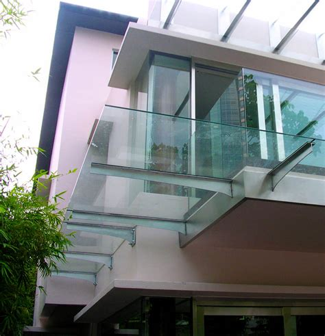 Glass Awning Residential - glass canopy glass awnings for commercial residential