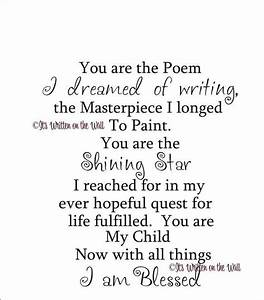 You are the Poem I Dreamed of Writing Vinyl Lettering Wall ...