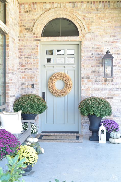 tips   beautiful fall front porch   zdesign
