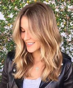 Magnificent Long Bob Hairstyles with Balayage Highlights ...