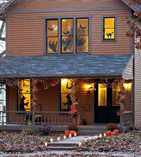 halloween   doorstep spooky decoration ideas