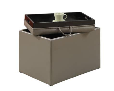 convenience concepts storage ottoman convenience concepts 143523gy modern accent storage