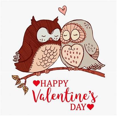 Valentine Valentines Happy Clipart Owl Owls Graphics