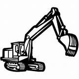 Backhoe Construction Coloring Excavator Clipart Demolition Equipment Bulldozer Clip Printable Signs Hoe Vehicles Cliparts Heavy Clipartpanda Truck Dem Projects Cookies sketch template