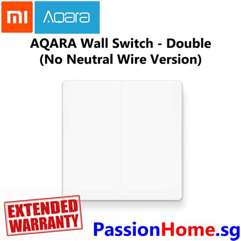 Aqara Wall Switch Double Neutral Wire Required