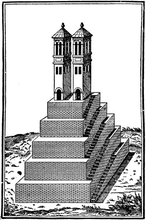 aztec temple clipart