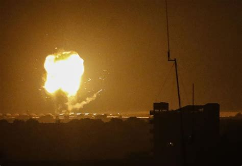The european space agency stated that the rocket is likely to fall back down to earth on may 9 at approximately 17:23 utc. Israel strikes Gaza after rocket attack | The Arab Times