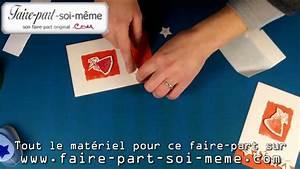 Creer Ses Faire Part De Naissance Soi Meme : faire part naissance et carte invitation elena youtube ~ Dode.kayakingforconservation.com Idées de Décoration