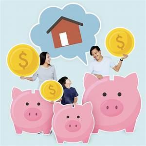 Kauf Eines Gebrauchten Hauses : familie spart bis zum kauf eines hauses download der premium fotos ~ A.2002-acura-tl-radio.info Haus und Dekorationen