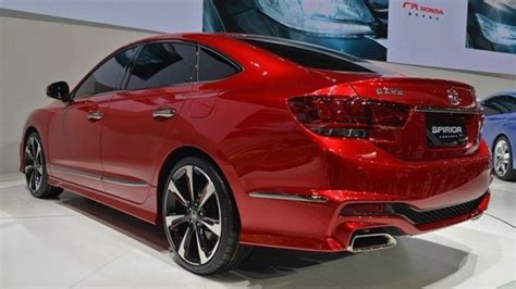 2020 Honda Accord Coupe Exterior Design In Red