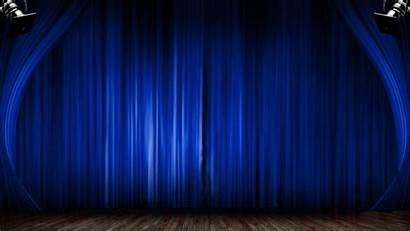 Curtains Opening Curtain Animated Animation Close Stage