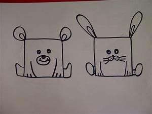 Bilder Zeichnen Für Anfänger : zeichnen lernen f r kinder b r hase wie kann man aus einem quadrat verschiedene tiere zeichnen ~ Frokenaadalensverden.com Haus und Dekorationen