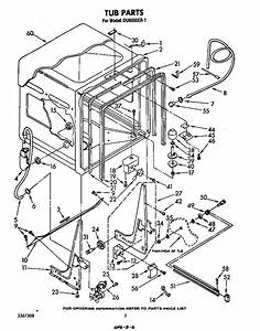refrigerators parts dryer parts With whirlpool gold dishwasher parts diagram whirlpool gold dishwasher part