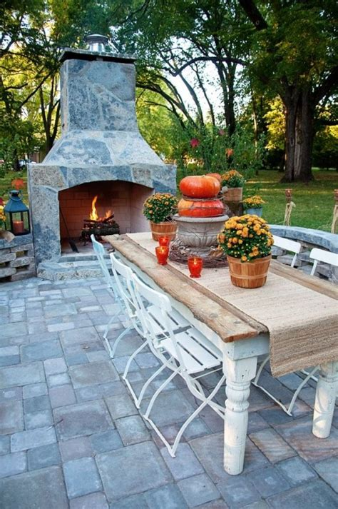 diy backyard decorating ideas diy welcome the fall with warm and cozy patio decorating