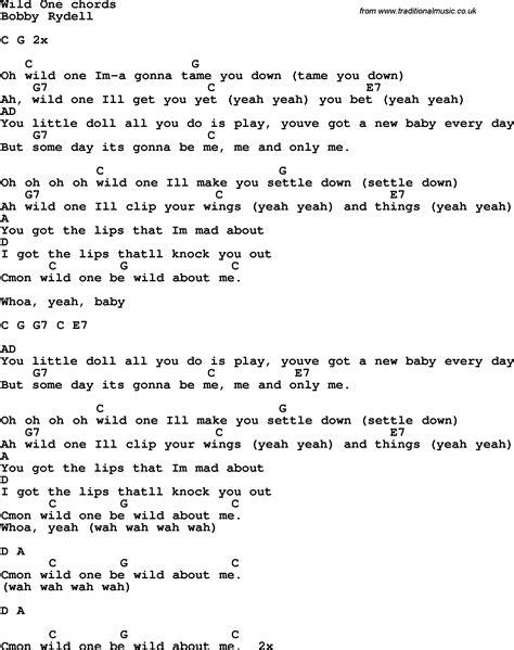 song lyrics  guitar chords  wild