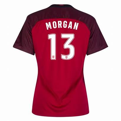 Morgan Alex Jersey Soccer Usa Stadium Third