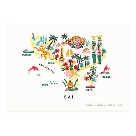 bali map print ayang cempaka environment bali bali