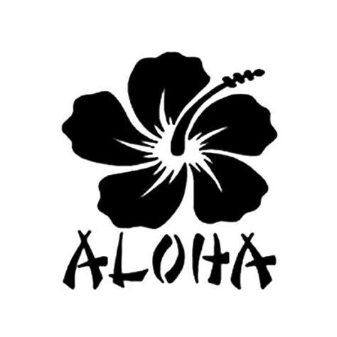 aloha die cut vinyl decal pv car truck window