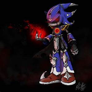 Demented Neo Metal Sonic by RobinElyce on DeviantArt