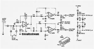 Active Crossover Wiring Diagram Schematic With Tl074