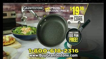 granite stone tv commercial   doesnt stick  pan ispottv
