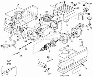 Black And Decker 9527-04 Parts List And Diagram