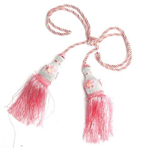 paire el 233 gant embrasse attache pendantif rideau pompon