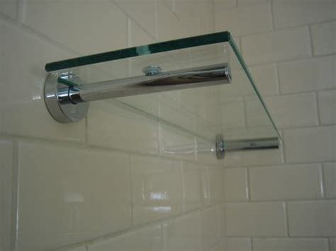 glass shower shelves for tile how to mount hardware in tile shelf ideas glasses and the glass