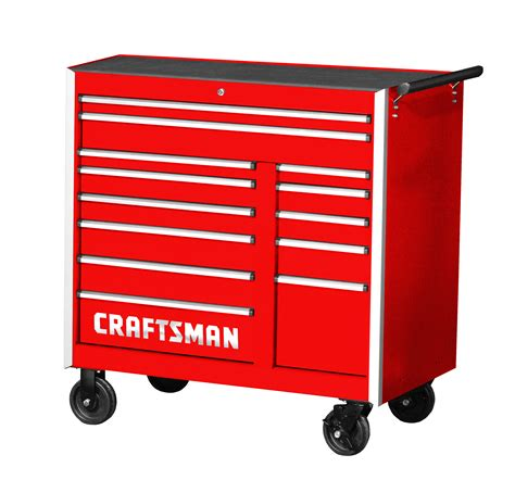 craftsman professional cabinet saw craftsman 42 quot 13 drawer pro cabinet with integrated latch
