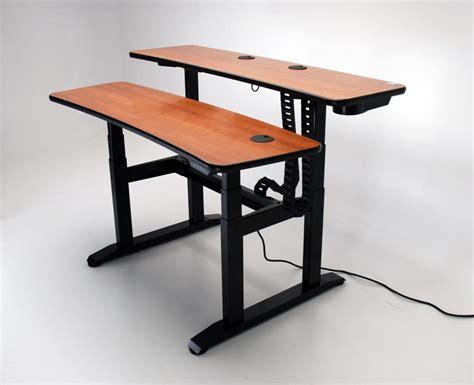 Ergo Duet 62 Adjustable Height Desk  Martin & Ziegler. White Corner Desk With Drawers. Saarinen Dining Table. Under Desk Bike Reviews. Build Your Own Corner Desk. Sofa Table With Stools Underneath. Hide Wires On Desk. Rowan Support Desk. Kids School Desks