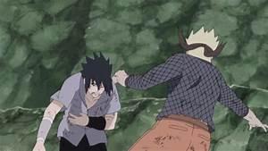 naruto-and-sasuke-fight | Daily Anime Art