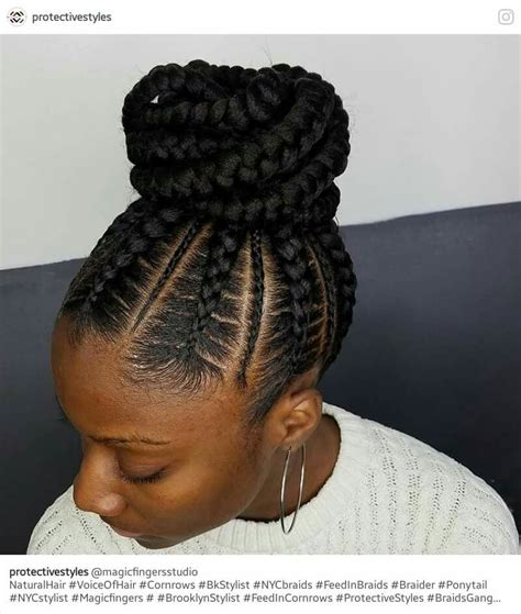 stunningly cute ghana braids styles for 2017 hair style