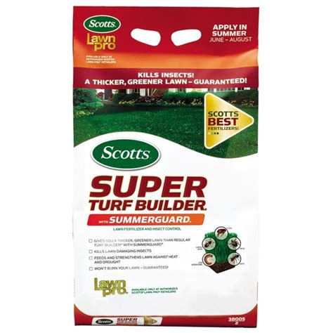 scotts lawn pro turf builder w summerguard