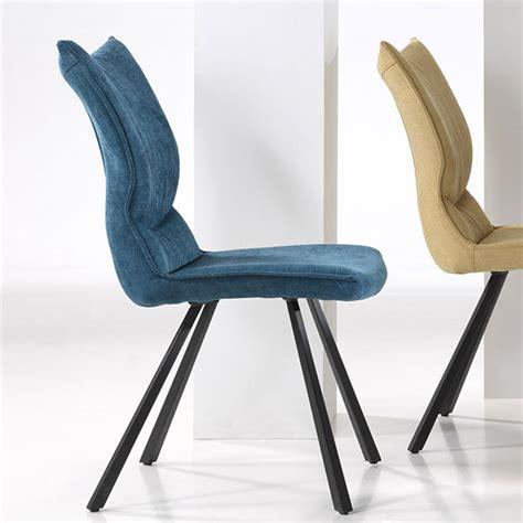 4x design chaise de salle à manger fauteuil à cuir neuf en stock. Chaise salle à manger design en tissu, chaise de salle à ...