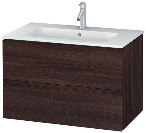 exclusive 5 designer wall unit by duravit l cube 820mm 2 drawers vanity unit with me by