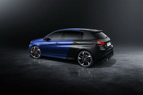 peugeot 308 gti 2018 peugeot 308 gti finally shows its facelift in detail