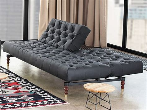 black tufted chesterfield sofa bed   weiss