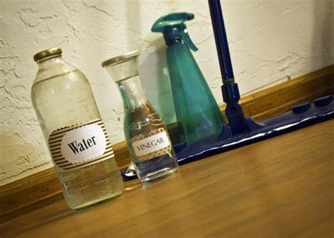vinegar and water floor cleaner diy laminate floor cleaner your grandmother would be proud of