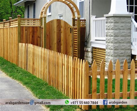 Types of Wood Fences Fencing