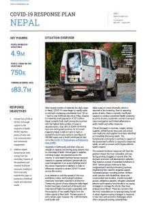 COVID-19 Response Plan Nepal May 2021   UN Nepal ...