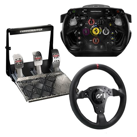 thrustmaster ferrari  wheel integral  rs pre owned