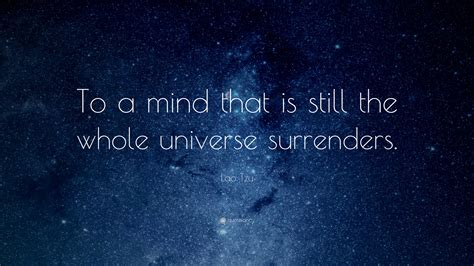 lao tzu quote   mind      universe