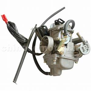 Pd24j Carburetor For Gy6 125cc 150cc Atv Scooter 152qmi