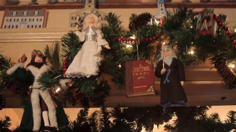 a christmas carol decorations youtube