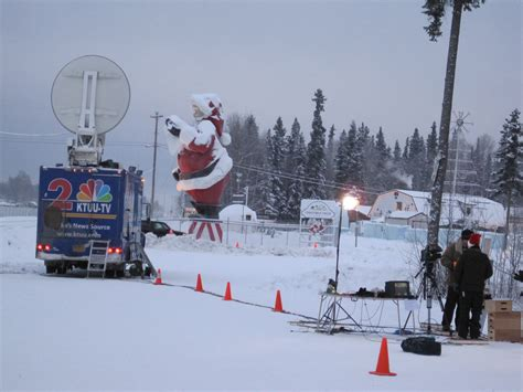 Santa Claus In Snowy Weather By Clairev December 2011 39 Homecoming 39