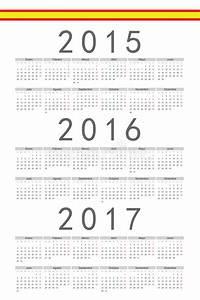 Calendrier Des événements 2016 : espagnol 2015 2016 calendrier de vecteur de 2017 ans illustration de vecteur illustration du ~ Medecine-chirurgie-esthetiques.com Avis de Voitures