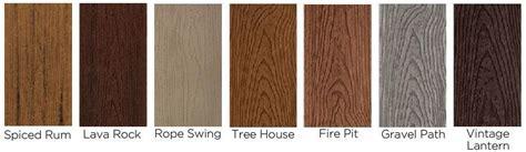 Trex Transcend Decking Colors by Trex Composite Decking Utah Deck Company