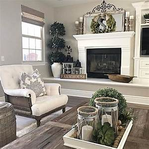 Magnificent french farmhouse living room decor ideas 07
